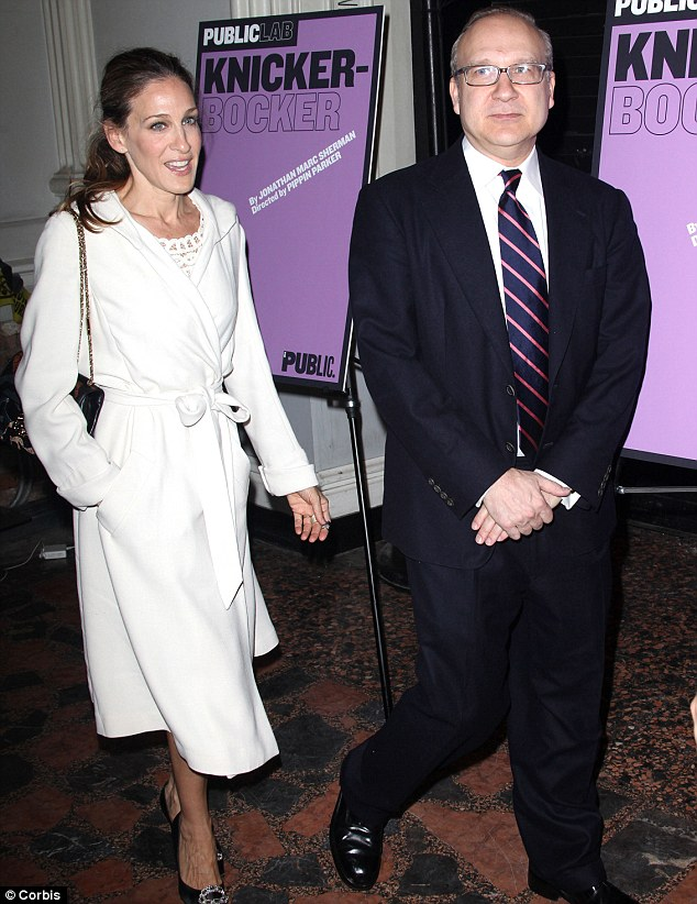 Different fields: Sarah Jessica Parker with her brother Pippin Parker