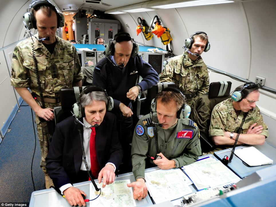 The Secretary of State for Defence, Philip Hammond