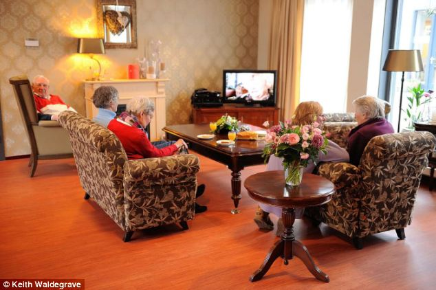 Dementiaville How An Experimental New Town Is Taking The