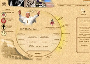 The Vatican's website
