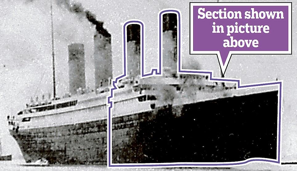 Viagem inaugural: O navio zarpa em 1912