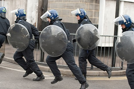 Police in riot training: Police officers are often expected to give highly detailed accounts of violent encounters or chases