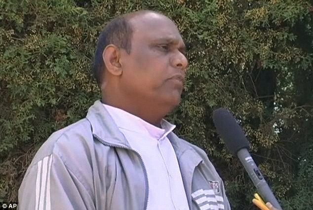 Arrested: Police in southern India have arrested Rev. Joseph Palanivel Jeyapaul, who is wanted in the U.S. on sexual assault charges