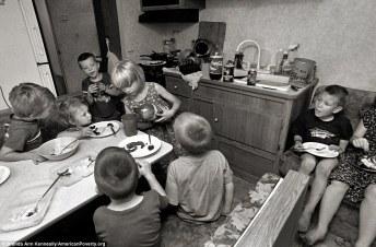 crianças pobreza estodos unidos