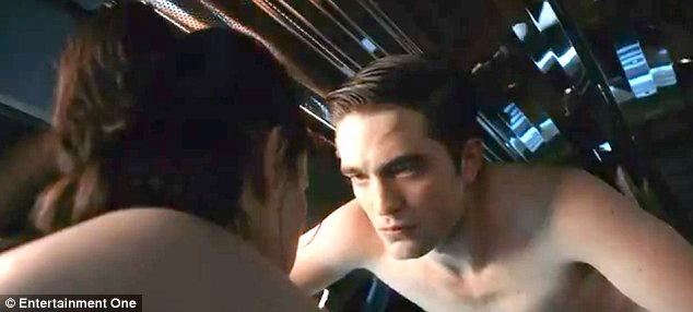 Robert Pattinson Nude In Cosmopolis Trailer R Patz Strips