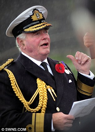 Sir Robert Woodard Former Commander Of Royal Yacht