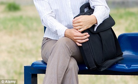 Predominant position: Many people can spend the majority of the day sitting down (Posed by model)