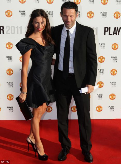 Details of an injunction brought out by Ryan Giggs, pictured here with his wife Stacey Cooke, was spread over the internet despite the court order banning the use of his name