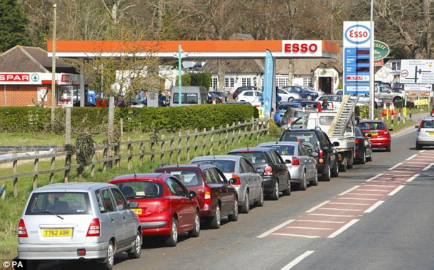 Petrol Strike Government Says There Is No Need To Panic