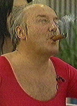 'Gorgeous' George Galloway, smoking a cigar in the Celebrity Big Brother house, gave a notorious performance in the reality TV show