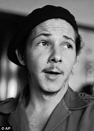 Raul Castro, brother of Cuban President Fidel Castro, shown in January 1959
