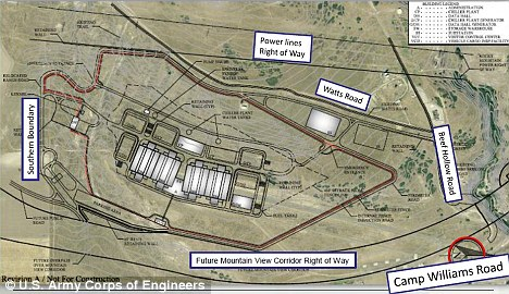 Massive: Plans for the new two million square foot spy center in Utah