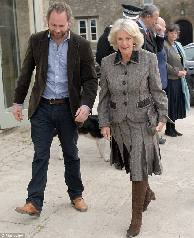 Camilla, The Duchess of Cornwall on a tour of Jamie's Farm