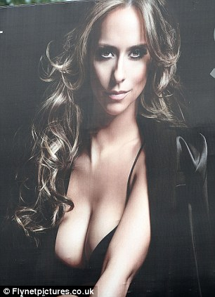 The last time breasts made this sort of impact: Back in 2012, Entertainment Weekly deemed Jennifer Love Hewitt too racy and digitally reduced her 36Cs in adverts for Lifetime's The Client List