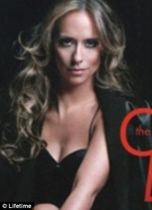 Spot the difference: Jennifer Love Hewitt's bosom was deemed to be too large for some magazines, seen left in her natural form and, right, her chest digitally reduced as seen in Entertainment Weekly