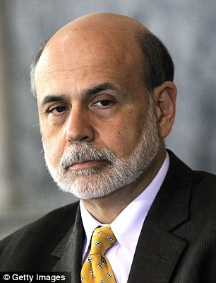 Chairman of Federal Reserve Board Ben Bernanke said the economic recovery remains slow