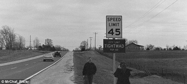 Very tight lender: The town of Tightwad, Missouri, famous for Tightwad Bank