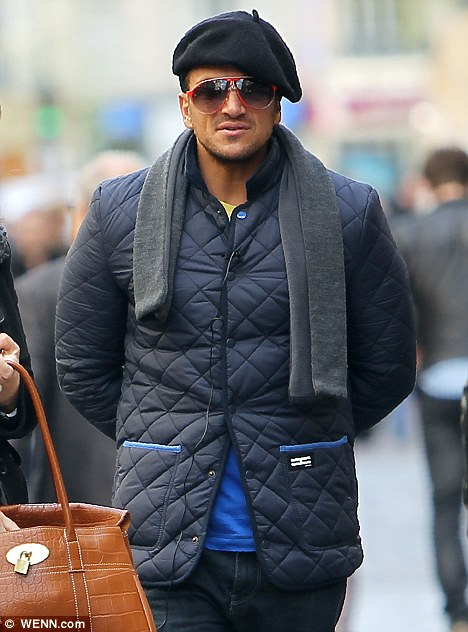 Peter Andre Gets Into The Swing Of Things In Paris