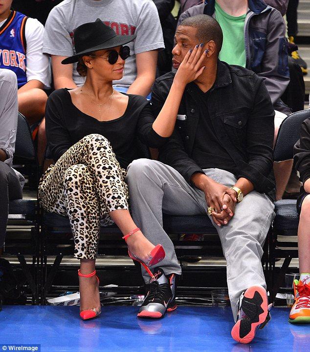 Knicks Games Celebrities