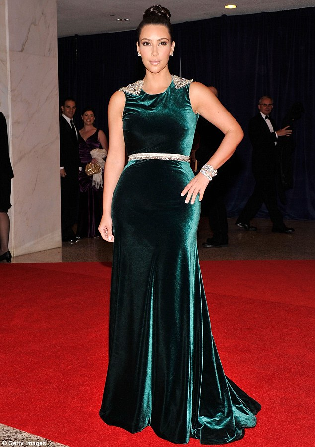 The night before: She was at the 98th Annual White House Correspondents' Association Dinner at the Washington Hilton