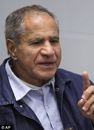 Convicted: Sirhan Sirhan is trying to appeal his sentence