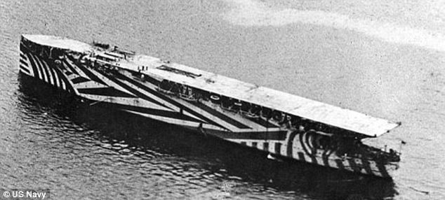 Inspiration: This 'dazzle' camouflage was used on American ships during World War I