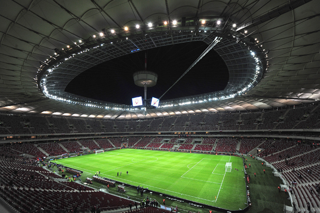 National Stadium, Warsaw - 50,000 capacity
