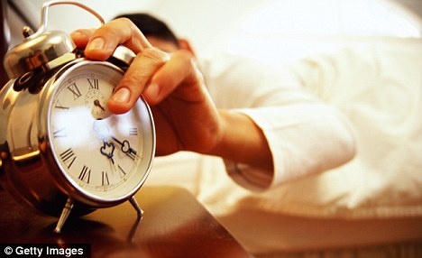 Turn off the alarm: Sleeping for less than seven hours a night can encourage the weight-gain gene
