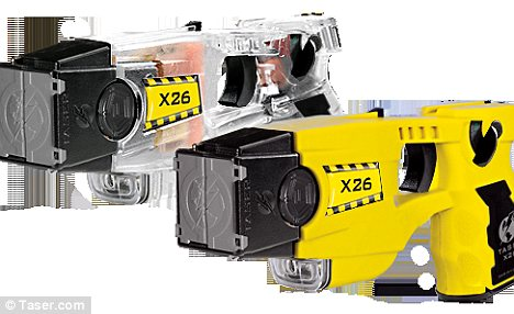 Deadly: The study by Dr Douglas Zipes examined the effects of the X26 Taser model on people