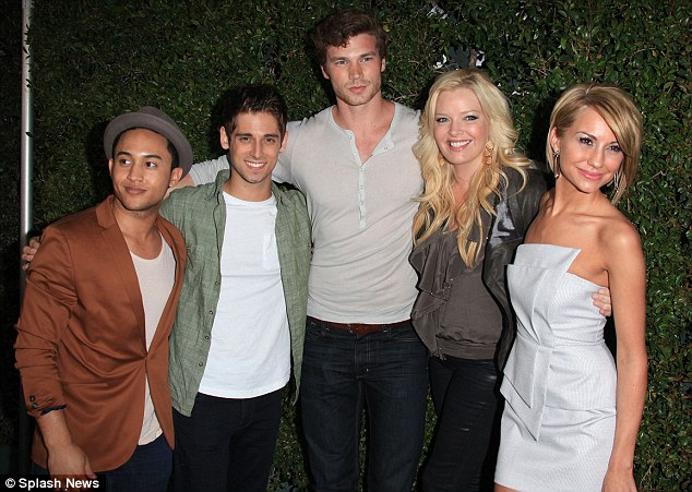 Co-stars: Baby Daddy actors Tahj Mowry, Jean Luc Bilodeau, Derek Theler, Melissa Peterman and Chelsea Kane also made an appearance