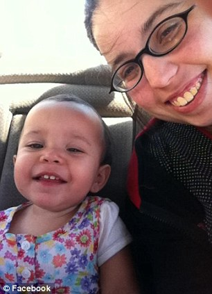 Amber Mederos with daughter Lilly