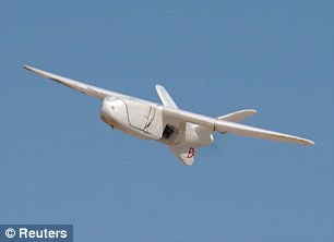 Fears: An unmanned drone could be used by terrorists to deliver a biological weapon strike, a senior army officer warned