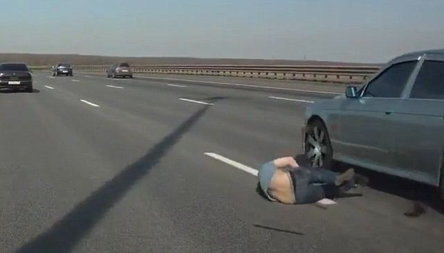 Image result for broken down in the middle of the freeway