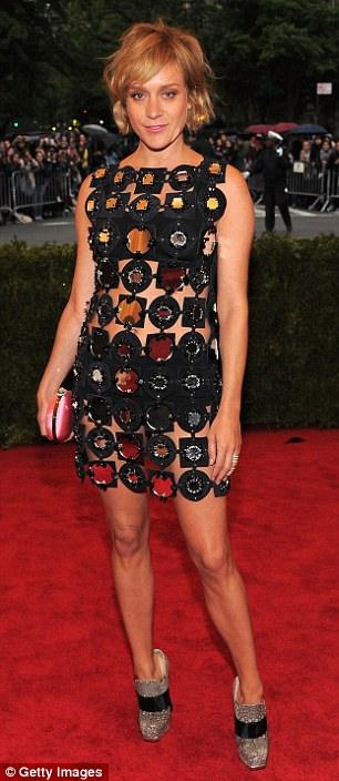 Fashion change: Milla Jovovich and Chloe Sevigny attended the Met Ball
