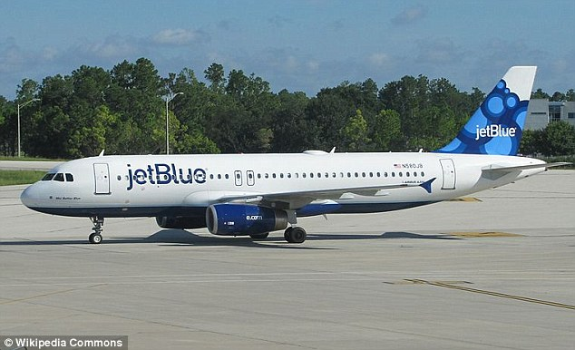 Ordeal: The parents were told they could re-board the JetBlue plane, but they refused as they were too humiliated. They said they did not receive an apology or an explanation