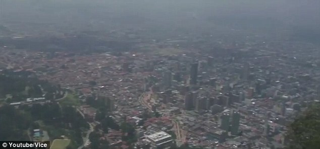 Dangerous: Vice's Ryan Duffy traveled to the capital of Bogota to find out more about the drug