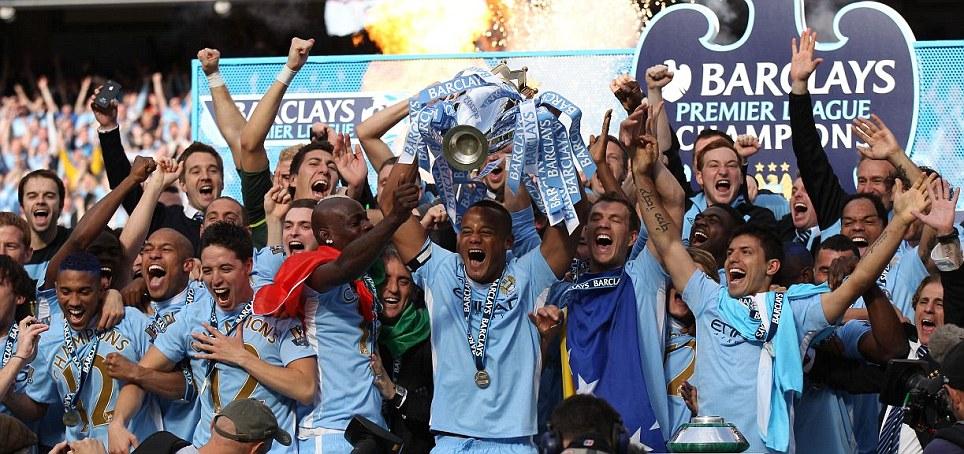 Crowned as 2012 Premier League Champion