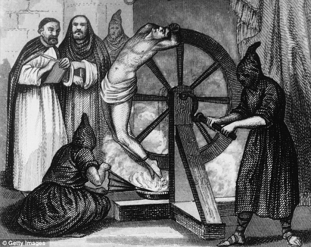 Question of faith: The Spanish Inquisition tortured tens of thousands of Marranos, who were ordered to give up the names of others - including friends and relatives