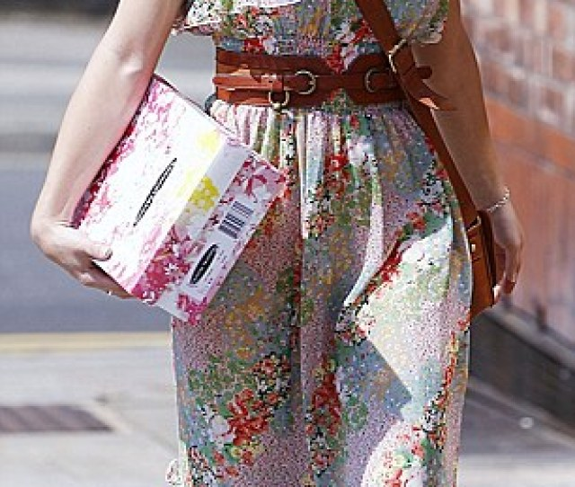 Dressing For Summer Coronation Street Stars Paula Lane And Catherine Tyldesley R Arrive
