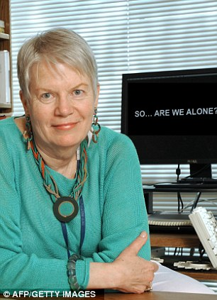 Believer: Dr Jill Tarter leaves the Center for Search for Extraterrestrial Intelligence in California after 35 years