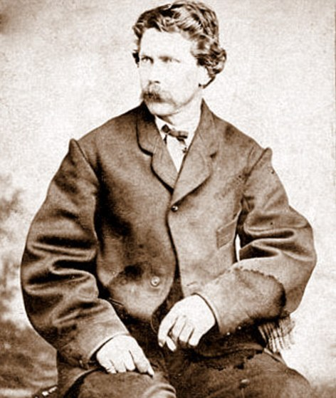 Famous photographer: Timothy O'Sullivan who took the first ever pictures of the Wild West