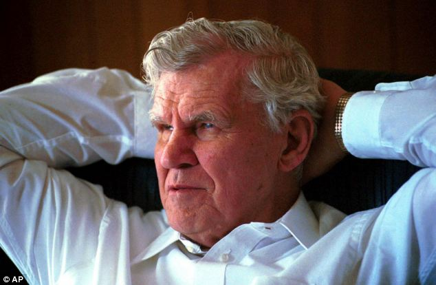 Gone: Doc Watson, the blind Grammy-award winning folk musician, died Tuesday at a North Carolina hospital