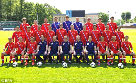 EURO 2012: Russia squad  | Mail Online