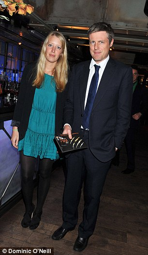 A Family Affair: Ben's brother Zac with his lover, Kate's sister Alice