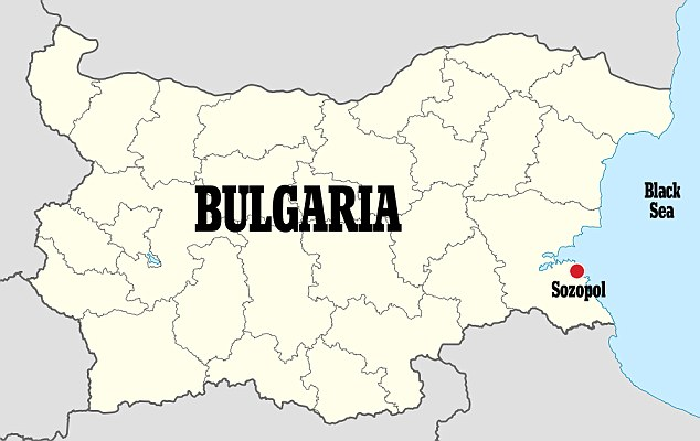 Bulgaria location map