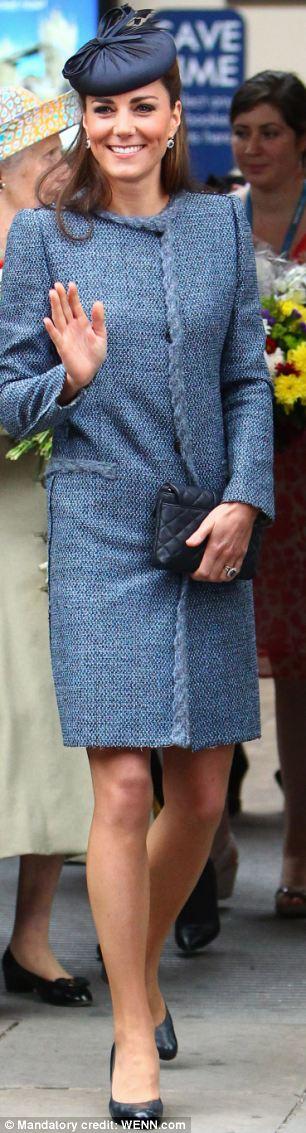 Kate Middleton at Nottingham Station