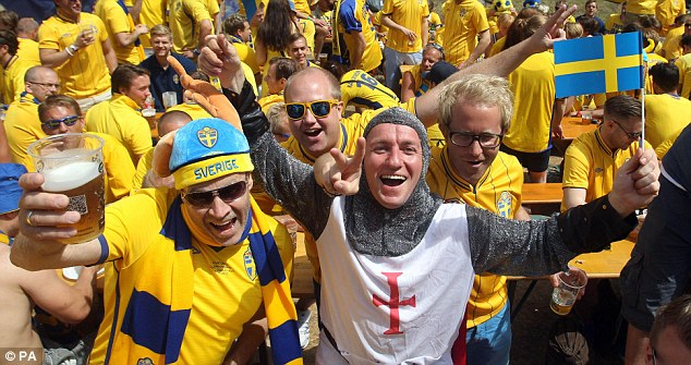 Euro 2012: England count down to Sweden match  | Mail Online