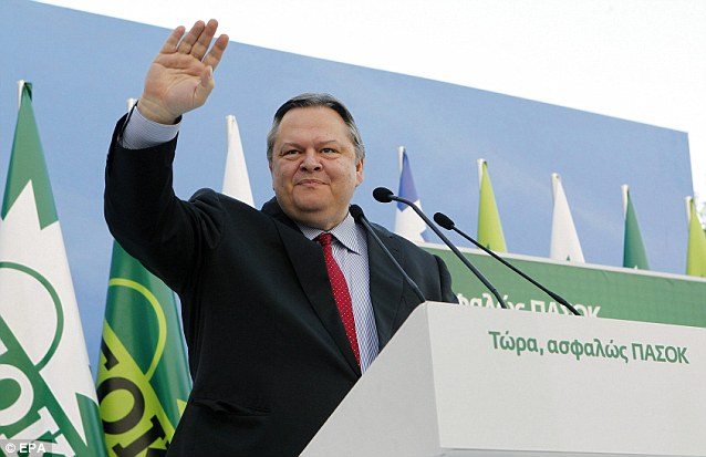 Evangelos Venizelos, an ex-finance minister of the socialist Pasok party, which had to go cap in hand to the IMF and its European partners to get Greece¿s first bailout