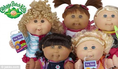 Image result for 90's cabbage patch doll