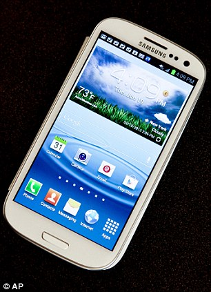 Bye bye mobiles? Rare earth materials are used in many modern-day smartphones, such as the Samsung Galaxy S3